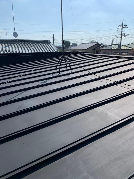 川越市 屋根塗装 施工前2