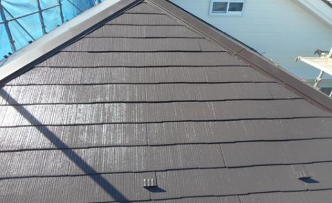 16屋根:養生撤去・完了